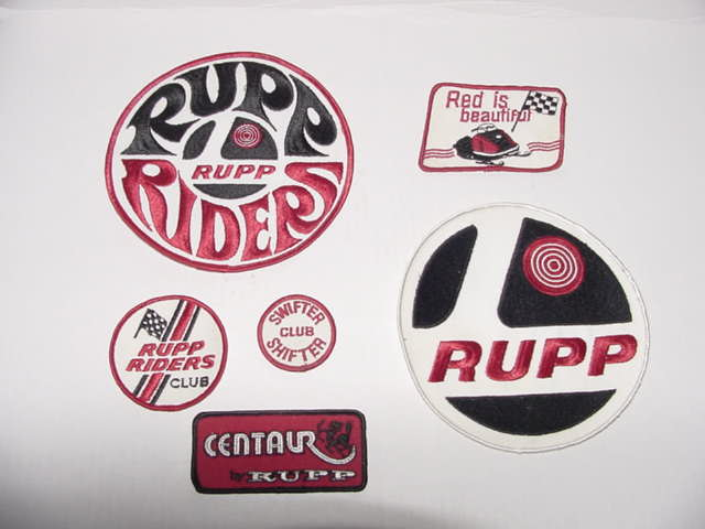 ORIGINAL RUPP PATCHES
